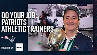 How Athletic Trainers Prepare an NFL Team for Gameday   Do Your Job