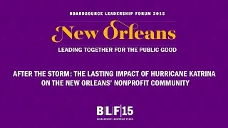 After The Storm: Hurricane Katrina's Impact on New Orleans Nonprofits