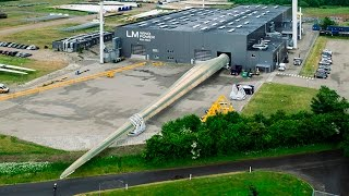 LM Wind Power sets record for the world's longest wind turbine blade, again!