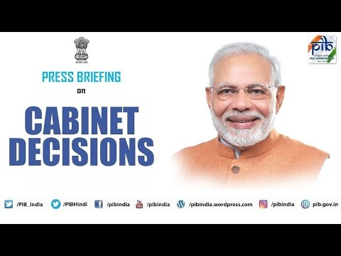 Cabinet briefing by Union Ministers Piyush Goyal & Prakash Javadekar