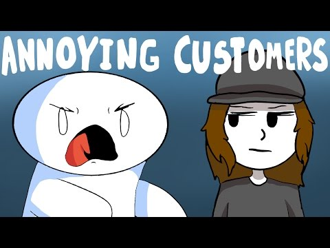 Annoying Customers (Feat. Theodd1sout & ItsAlexClark) (видео)
