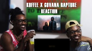 Koffee   Rapture Remix Ft Govana REACTION (Bars And Flames!)