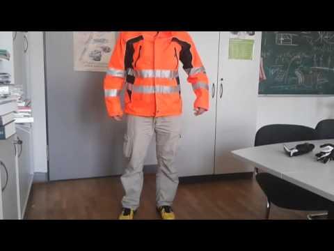 Tambora Warnschutz-Jacke von Eldee - Anwenderbericht Arbeits