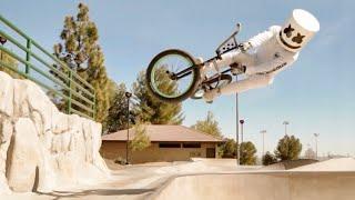 Freestyle BMX Tricks   Adventures with Marshmello