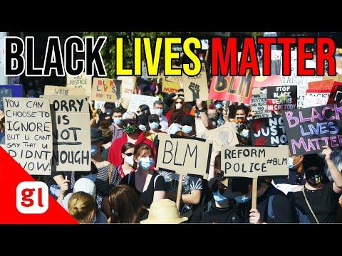 Huge Black Lives Matter rally in Brisbane
