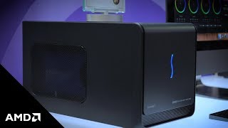 Thunderbolt3 eGPU Solutions from Sonnet and AMD Radeon Pro