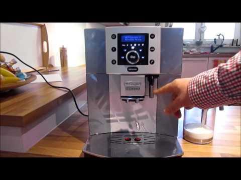 Delonghi Perfecta Cappuccino Esam 5500 review Test Deutsch Fazit