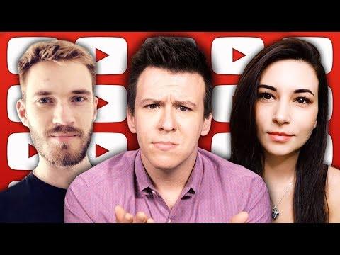 The PewDiePie CollabDRM Alinity Copyright Abuse Scandal, Laurel vs Yanny, & Net Neutrality