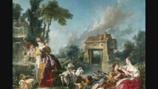 J.C. Bach  - Keyboard Sonata with Flute Accompaniment Op. 16 No. 2 (1/2)