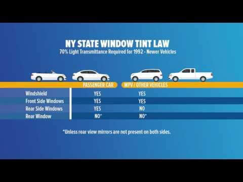 New Window Tinting Law - YouTube
