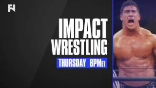 Tune in to IMPACT Wrestling - Thursday at 8 p.m. ET in Canada on Fight Network