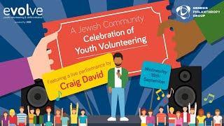 A Jewish Community Celebration Of Youth Volunteering With Craig David