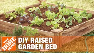 How To Build A Raised Garden Bed - DIY Raised Garden Beds | The Home Depot
