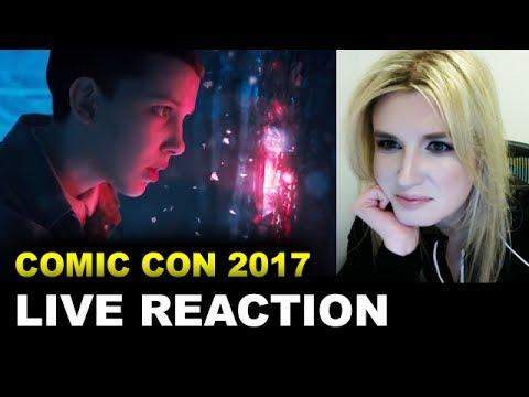 Stranger Things Season 2 Comic Con Trailer REACTION