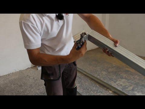 Postup montáže sádrokartonové příčky