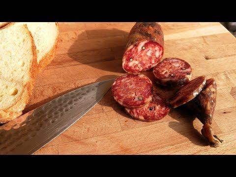 How to Make Italian Salami ( Calabrian Style )