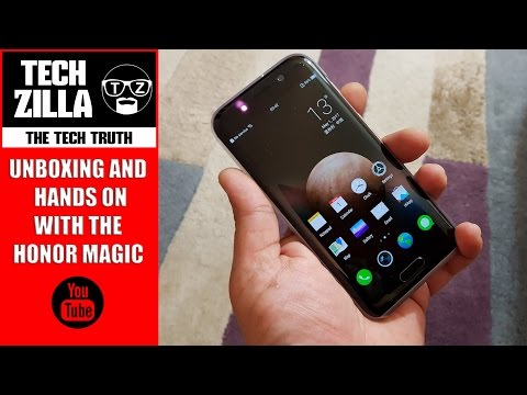 Honor Magic Unboxing & Hands On