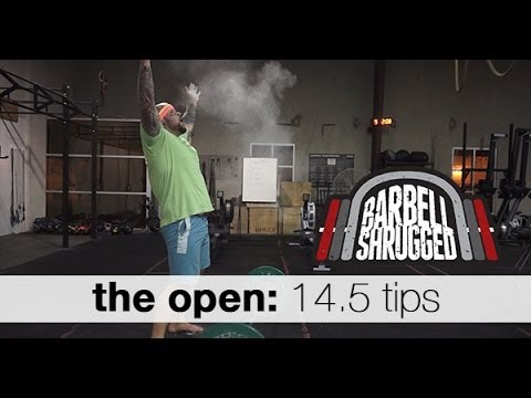 CrossFit Open 14.5 WOD Tips and Strategy by Barbell Shrugged – TechniqueWOD