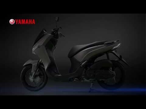 NEW YAMAHA LEXI 125 - The New Concept Of Maxi Yamaha