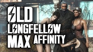 Old Longfellow - How to Get Max Affinity - Fallout 4 Far Harbor