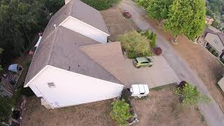 First FPV Flight 5 inch quad at home