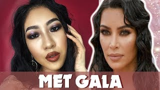 Kim Kardashian Met Gala Inspired Makeup [Vanmiu Beauty]