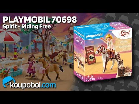 Vidéo PLAYMOBIL Spirit - Riding Free 70698 : Rodéo Abigaëlle