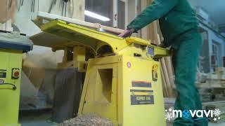Фуганок корвет 106 и рейсмус корвет 220 . Изготовление мебельного щита из бука .