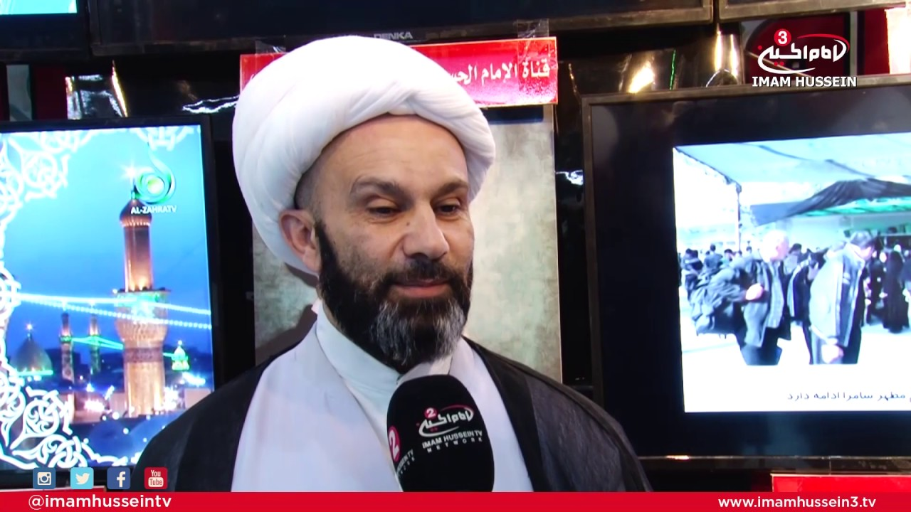 13th International Book Fair in Karbala – Interviews