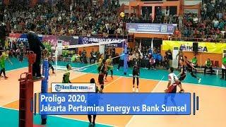Hasil Proliga 2020, Jakarta Pertamina Energi Vs Bank SumselBabel