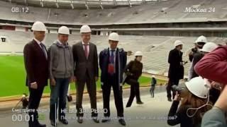 FIFA осталась довольна подготовкой стадиона Лужники к ЧМ 2018