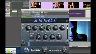 Eventide Blackhole Native Reverb Plug-in Demo