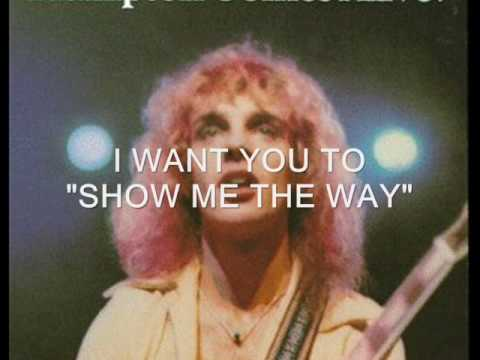 Show Me the Way performed by Peter Frampton