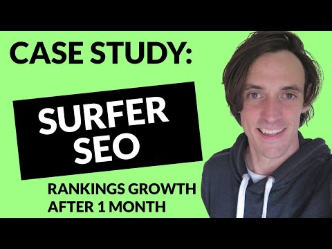 Surfer SEO Case Study - The TRUTH about Surfer after 30 Days of Optimization