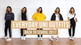 Everyday Uni Outfits | Clothesnbits
