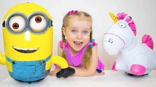 Gaby and Alex - New Funny Stories about Toys