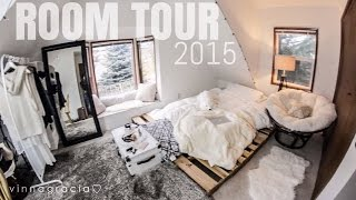 MY ROOM TOUR 2015 (affordable! IKEA, ROSS, AMAZON!) // vinnagracia
