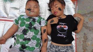 Em Bé Ngủ Với Con Gián ❤ ChiChi Kids Family ❤ Đồ Chơi Trẻ Em Fun Kids