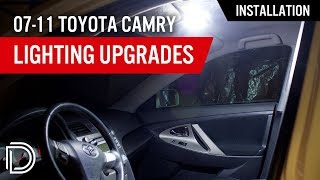 2007-2011 Toyota Camry LED Installation