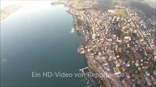 preview picture of video 'Flugaufnahme Horgen ZH'