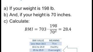 CalculateBodyMassIndexBMI