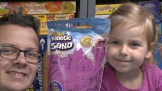 Kinetic Sand (Spin Master) - ab 4 Jahre ... Sand bzw. Sandkasten in der Wohnung?