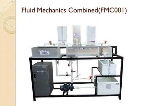 Fluid Mechanics Bernoulli Metacentric Notches Pitot Tube