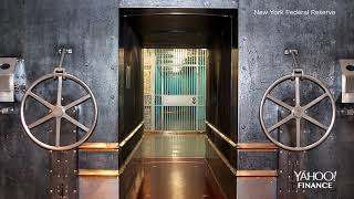 Inside the gold vault at the New York Federal Reserve