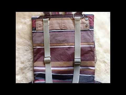 DIY Handbag-UPCYCLI - bag - handmade & upcycling -ausgefallen Rucksäcke, backpack, bag,