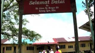 Program Ziarah Mahabbah & Amal Kebajikan Ke Kampung Bungan Igan, Sibu Sarawak