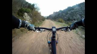 preview picture of video 'Forest Track Downhill - Gopro HD - Canyon Nerve Am 7.0'