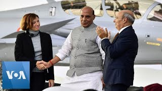 France Delivers First Rafale Fighter Jets To India