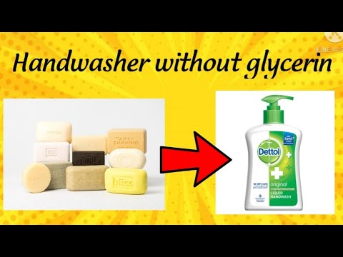Handwash without glycerin only from soao