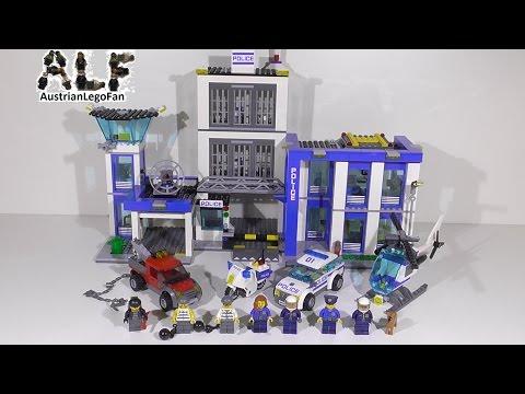 Vidéo LEGO City 60047 : Le commissariat de police